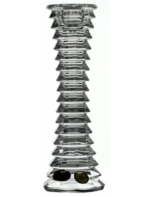 Svícen Blade, barva čirý křišťál, výška 180 mm