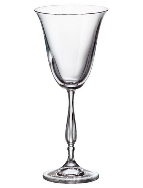 Set Sklenice na víno Fregata 6x, bezolovnatý crystalite, objem 185 ml