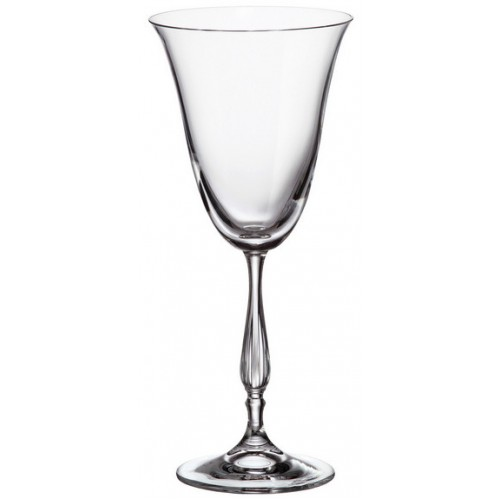 Set Sklenice na víno Fregata 6x, bezolovnatý crystalite, objem 250 ml