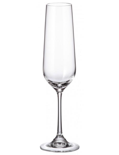 Set Sklenice na víno Strix 6x, bezolovnatý crystalite, objem 200 ml