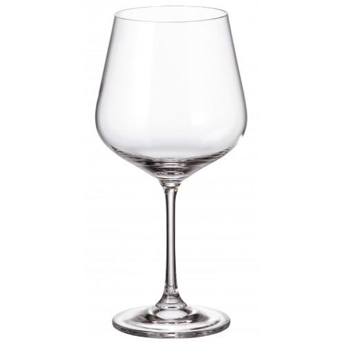Set Sklenice na víno Strix 6x, bezolovnatý crystalite, objem 600 ml