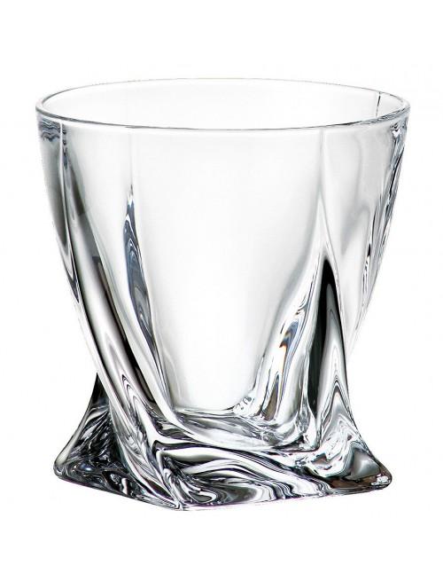 Sklenice Quadro, bezolovnatý crystalite, objem 340 ml