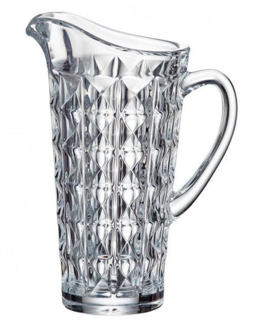 Džbán Diamond, bezolovnatý crystalite, objem 1250 ml