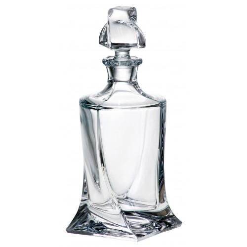 Láhev Quadro, bezolovnatý crystalite, objem 850 ml