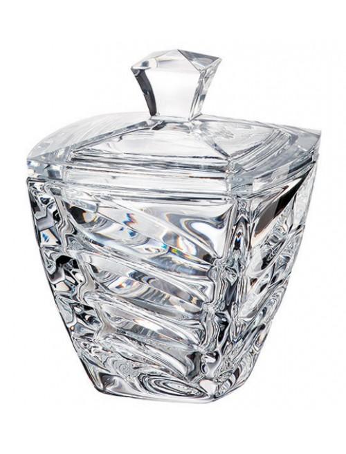 Dóza Facet, bezolovnatý crystalite, průměr 140 mm