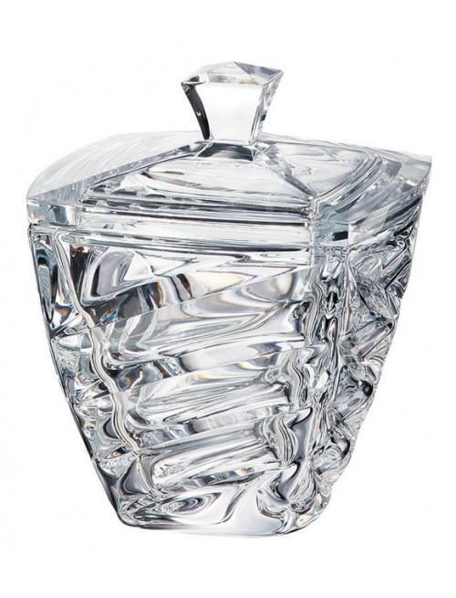 Dóza Facet, bezolovnatý crystalite, průměr 180 mm