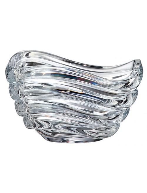 Mísa Wave, bezolovnatý crystalite, průměr 165 mm