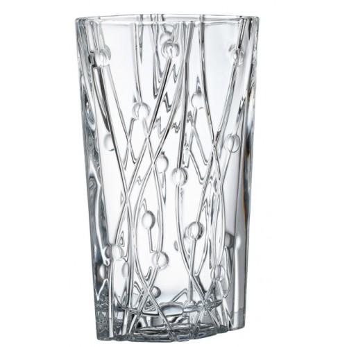 Váza Labyrinth, bezolovnatý crystalite, výška 305 mm