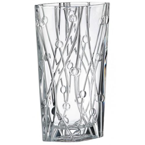Váza Labyrinth, bezolovnatý crystalite, výška 355 mm