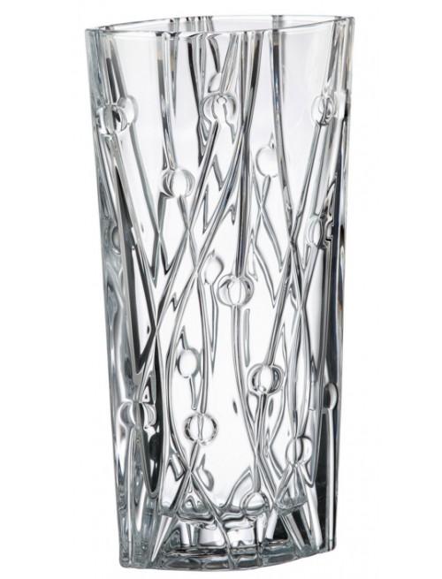 Váza Labyrinth, bezolovnatý crystalite, výška 405 mm