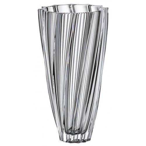 Váza Scallop, bezolovnatý crystalite, výška 305 mm