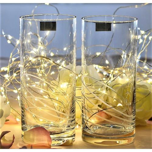 Set 2x sklenice, bezolovnatý crystalite, objem 350 ml