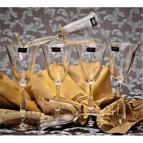 Set Sklenice na víno Fregata 6x, bezolovnatý crystalite, objem 350 ml