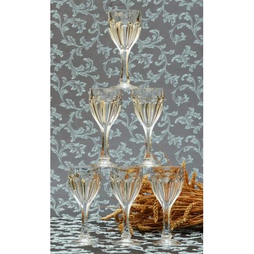 Set Sklenice na víno Safari 6x, bezolovnatý crystalite, objem 190 ml