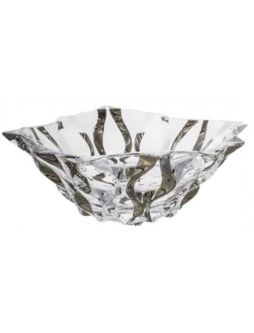 Mísa Samba platina, bezolovnatý crystalite, průměr 305 mm