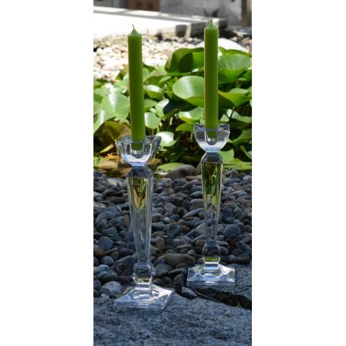 Svícen Olympia, bezolovnatý crystalite, výška 210 mm