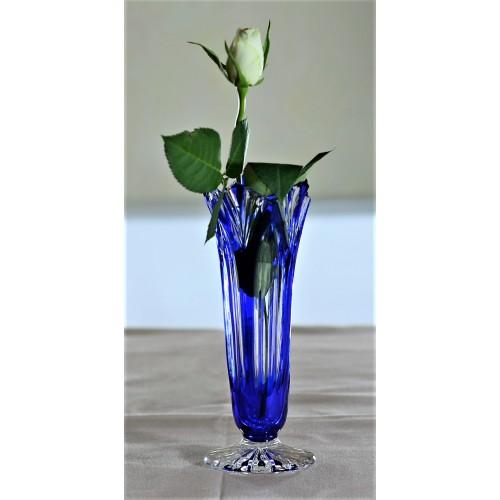 Váza Lotos, barva modrá, výška 175 mm