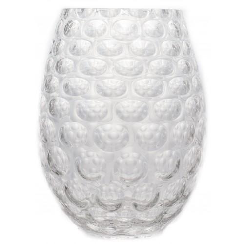 Váza Optika, barva čiré sklo, výška 250 mm