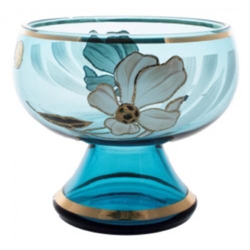 Nástolec Květ, barva azurová, průměr 155 mm