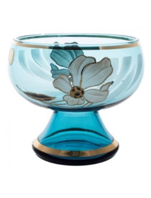 Nástolec Květ, barva azurová, průměr 250 mm
