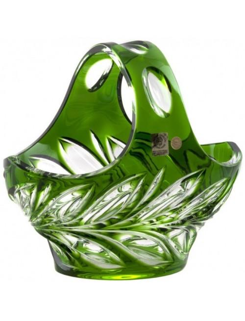 Koš  Fluora, barva zelená, průměr 200 mm