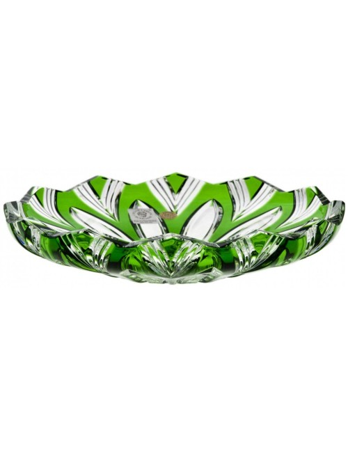 Talíř  Lotos, barva zelená, průměr 180 mm
