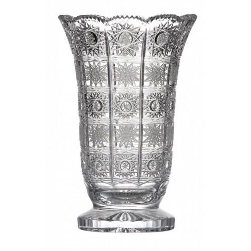 Váza 500PK I, barva čirý křišťál, výška 255 mm