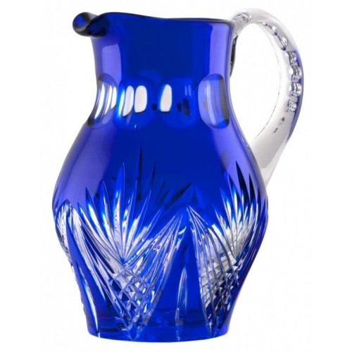 Džbán  Janette, barva modrá, objem 1500 ml