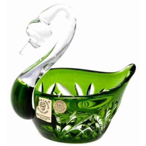 Labuť  Miniature, barva zelená, průměr 100 mm