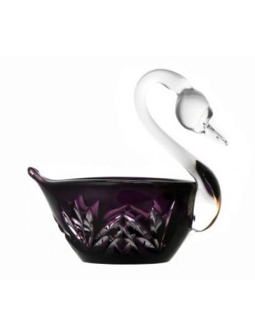 Labuť Miniature, barva fialová, průměr 100 mm