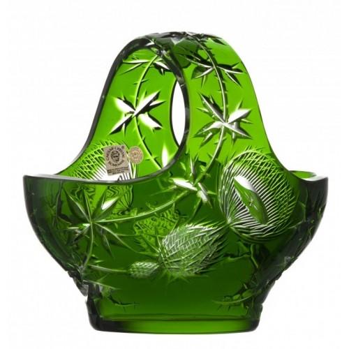 Koš  Thistle, barva zelená, průměr 200 mm