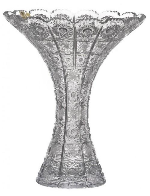 Váza 500PK, barva čirý křišťál, výška 300 mm