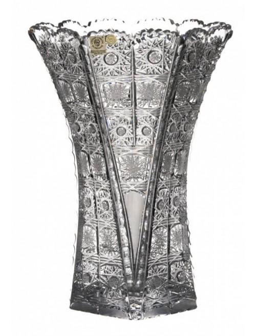 Váza 500PK, barva čirý křišťál, výška 275 mm