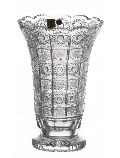 Váza 500PK II, barva čirý křišťál, výška 205 mm