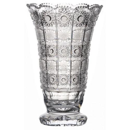 Váza 500PK VII, barva čirý křišťál, výška 305 mm
