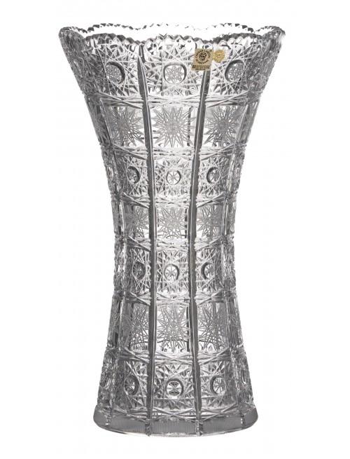 Váza 500PK, barva čirý křišťál, výška 305 mm