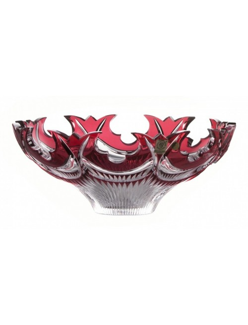 Mísa  Diadem, barva rubín, průměr 275 mm