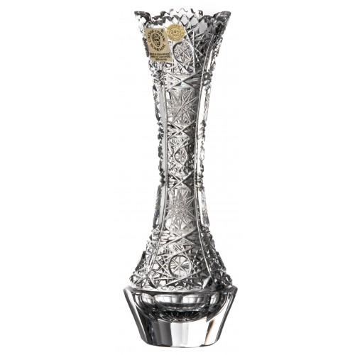 Váza 500PK VIII, barva čirý křišťál, výška 205 mm