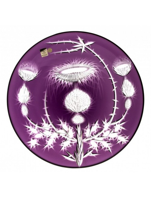 Talíř  Thistle, barva fialová, průměr 300 mm