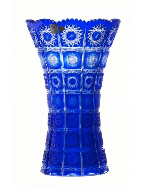 Váza Paula II, barva modrá, výška 205 mm