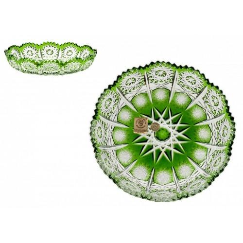Talíř  Paula, barva zelená, průměr 146 mm