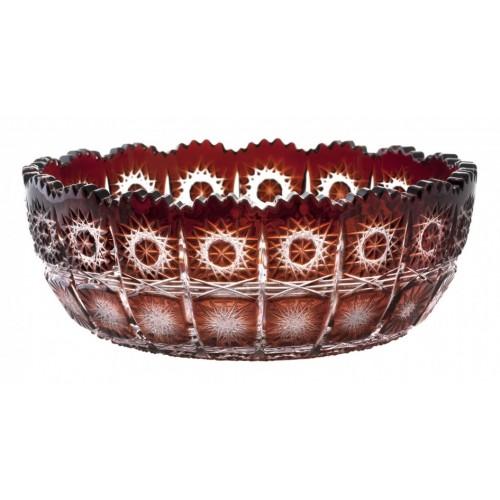 Mísa  Paula, barva rubín, průměr 205 mm