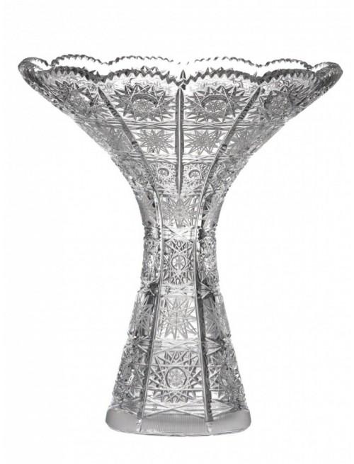 Váza 500PK I, barva čirý křišťál, výška 205 mm