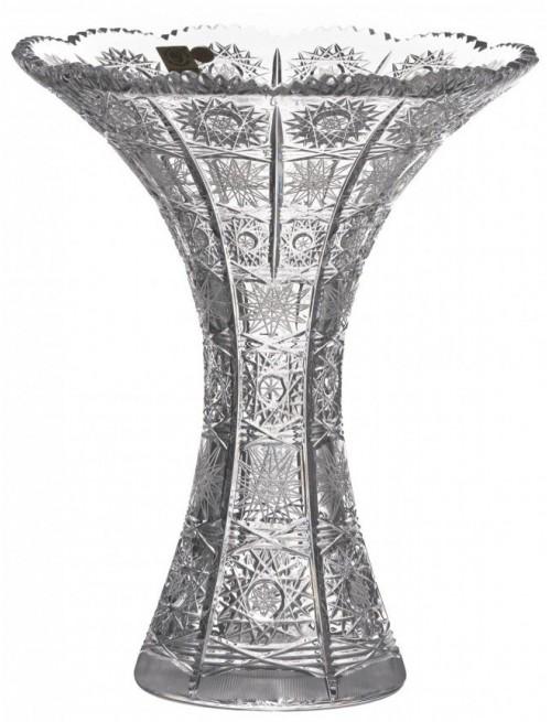 Váza 500PK, barva čirý křišťál, výška 250 mm
