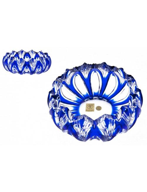 Popelník  Lotos, barva modrá, průměr 155 mm