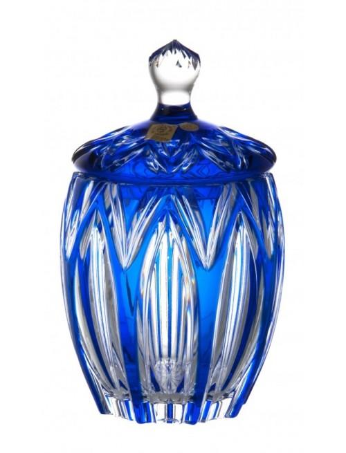 Doza  Lotos, barva modrá, výška 200 mm
