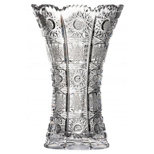 Váza 500PK VI, barva čirý křišťál, výška 180 mm