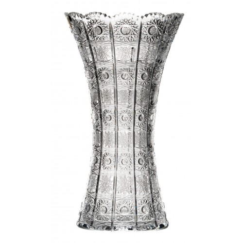Váza 500PK VI, barva čirý křišťál, výška 355 mm