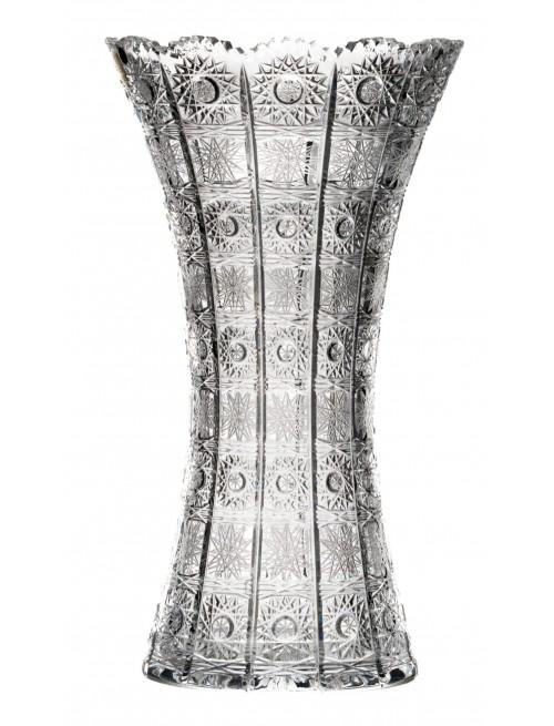 Váza 500PK, barva čirý křišťál, výška 355 mm