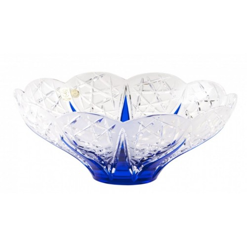 Mísa  Flowerbud, barva modrá, průměr 275 mm